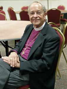 V. Gene Robinson performed his job as New Hampshire's Episcopal bishop quietly and steadily.