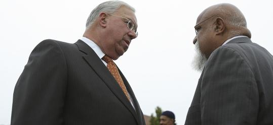 Mayor Thomas M. Menino, running for reelection in 2009, conferred with City Councilor Chuck Turner. Now the mayor says Turner, who was found guilty of corruption charges two weeks ago, should resign or be voted off the council.