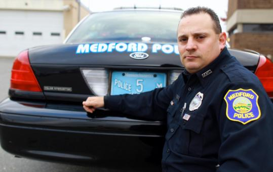 Officer Jason Montalbano and his Crown Victoria, long a police favorite.