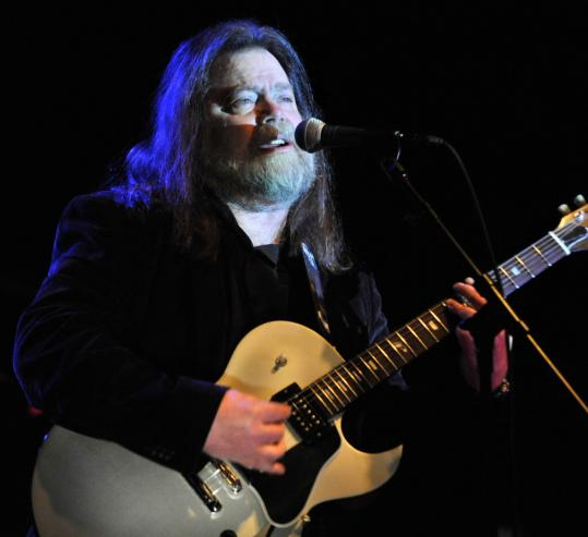 Roky Erickson performed for the first time in Boston at Royale on Saturday night.