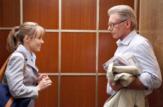 "Rachel McAdams and Harrison Ford star in ""Morning Glory.''"