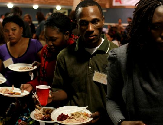 The Massachusetts Immigrant and Refugee Advocacy Coalition held its annual Thanksgiving luncheon yesterday in Boston.