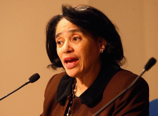 Boston School Superintendent Carol R. Johnson said budget cuts could shrink or eliminate many programs.