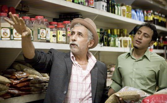 "Aasif Mandvi (right, with Naseeruddin Shah) co-wrote and stars in ""Today's Special.''"