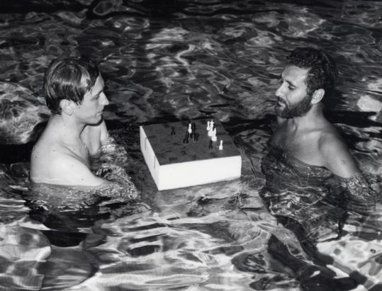 In the Catskills, Bobby Fischer got help from Larry Evans in preparing for an upcoming match.