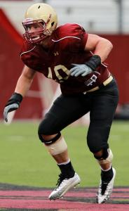 BC sophomore standout Luke Kuechly is the favorite for the Butkus Award as the best linebacker in college football.