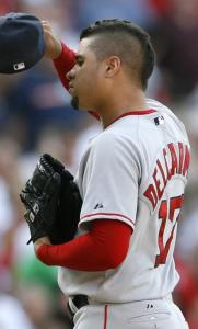Manny Delcarmen made it to the bigs with the Red Sox before being traded.