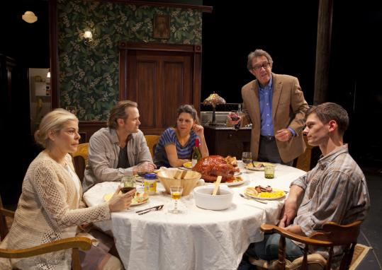 From left: Roberta Wallach, Lee Tergesen, Katie Kreisler, Larry Pine, and Karl Baker Olson in ''Vengeance is the Lord's.''
