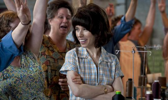 Sally Hawkins plays Rita O'Grady, who led a three-week walkout at a Ford plant in Britain in 1968.