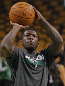 Nate Robinson (above) has benefited from being with veterans in Boston — just ask his pal Jamal Crawford.