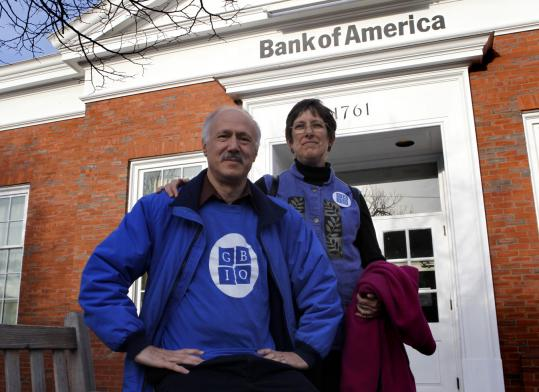 Angered by Bank of America's practices, Chuck Koplik and his wife, Sue Tafler, closed their accounts there.