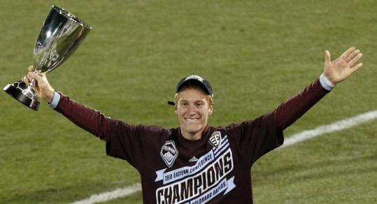After losing in the MLS Cup final three times with the Revolution, Jeff Larentowicz won a title with the Rapids.
