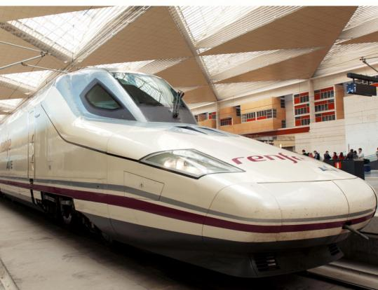 The Alta Velocidad Española inaugurates a Valencia to Madrid route next month, making the trip in about 90 minutes, at up to 205 miles per hour.