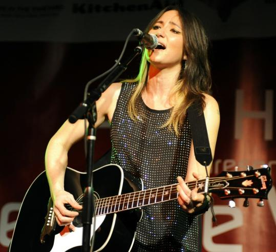 """""""This was the first time I experimented in the studio,'' says KT Tunstall of recording her new album."""