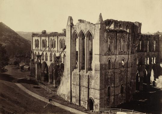 Roger Fenton's 'Rievaulx Abbey, the North Transept (1854).'