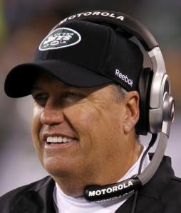 Rex Ryan's Jets are riding a four-game winning streak.