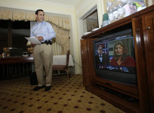 Republican Darrell Issa watched the election results on Nov. 2 from a hotel in San Diego. Among his targets for trimming are Medicare, Fannie Mae and Freddie Mac, and the Postal Service.