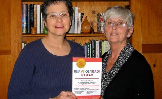 """Susan Marx (left) and Barbara Kasok will be hosting a workshop on their new book, """"Help Me Get Ready to Read,'' as part of an early-childhood education conference Saturday in Boston."""
