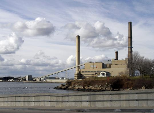 Salem Harbor Power Station, seen from Winter Island Maritime Park. A company official told investors the plant owner expects the Salem Harbor plant to shut down within five years.