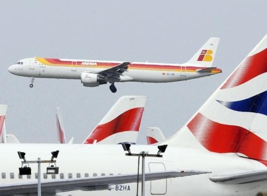 Iberia and British Airways hope their union will help counter falling demand from both business and leisure travelers.