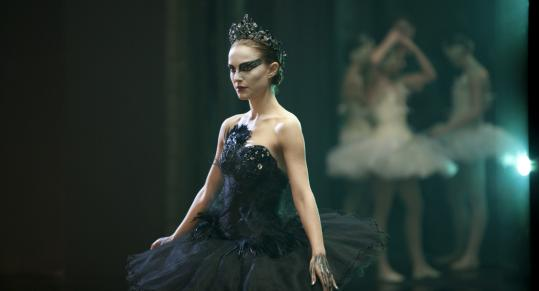 Natalie Portman plays a ballet dancer overtaken by her own paranoia and narcissism in Darren Aronofsky's ''Black Swan.''