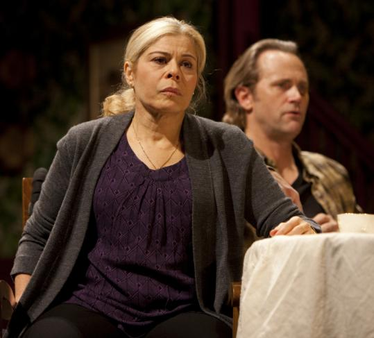 "Roberta Wallach and Lee Tergesen in the Huntington Theatre Company's ""Vengeance Is the Lord's'' by Bob Glaudini and directed by Peter DuBois."