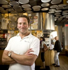 Jordan Tobins has found fame and success since starting Upper Crust, but his former boss says he took business contacts and expansion plans.