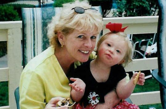 Author Beverly Beckham, with her granddaughter Lucy, says today's busy mothers need the gift of time for themselves.