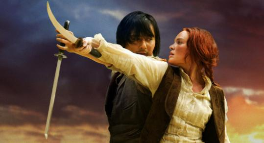 Jang Dong Gun and Kate Bosworth star in the action film.