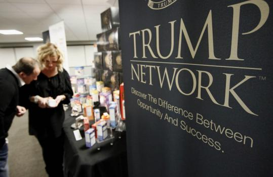 The Trump Network held a one-year anniversary open house for its health products in Rowley.
