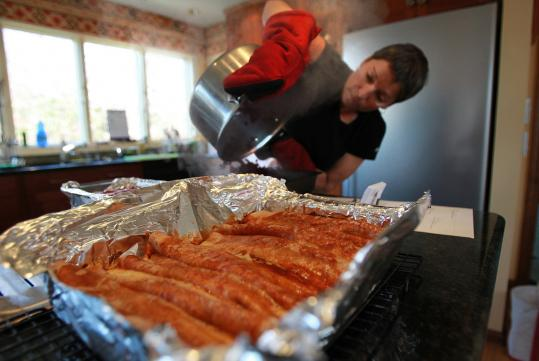 Homemade Today is a Lexington-based service that cooks meals in the gift recipient's house or delivers them to the home.