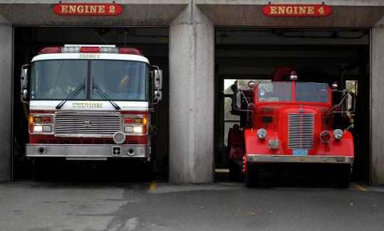 Bigger Fire Trucks Putting Squeeze On Aging Stations South