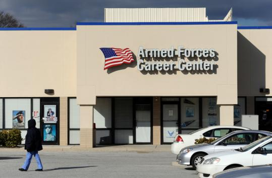 Authorities said Antonio Martinez, also known as Muhammad Hussain, tried to detonate what he thought was a bomb at this military recruitment center near Baltimore.