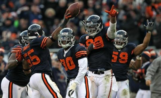 The Bears have been coming up with the big plays on defense during a five-game winning streak that has them at 9-3 going into Sunday's matchup.