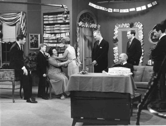 "This 1965 photo shows a scene from ""As The World Turns,'' which was television's leading daytime soap opera. The last one Procter & Gamble produced, it went off the air in September."