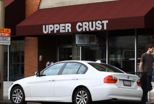 The Upper Crust location in Brookline is one of 17 stores.