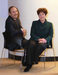 Jane Garvey, chairwoman, and Joseph Aiello, chief executive, Meridiam North America Fund