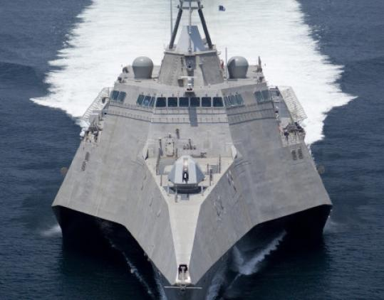 The bill would authorize 10 more combat ships like the Independence.