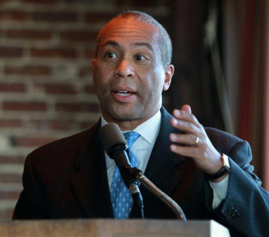 "Deval Patrick ""is demonstrating that he can wield the power of the governor's office. It sends a very direct message."" said John Sasso, former governor Michael Dukakis's chief of staff."