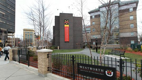 Wentworth Institute of Technology developed this park next to its campus, at the corner of Huntington Avenue and Ward Street.