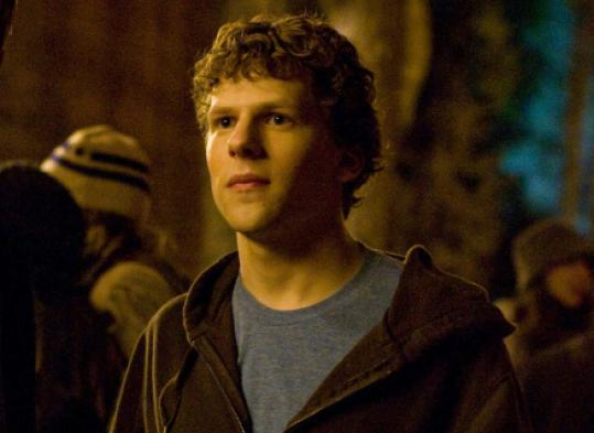 "Jesse Eisenberg in ""The Social Network.''"