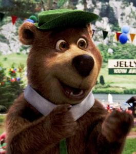 Dan Aykroyd voices Yogi Bear in the new 3-D movie.