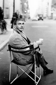 Blake Edwards, shown on the set of ''Breakfast at Tiffany's,'' specialized in comedy but also made