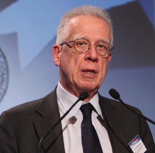 Tommaso Padoa-Schioppa, who helped Greece with its debt crisis, addressed a conference in Athens last month.