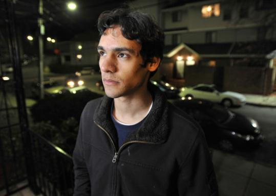 Deivid Ribeiro came to the United States when he was 7. He wants to attend MIT.