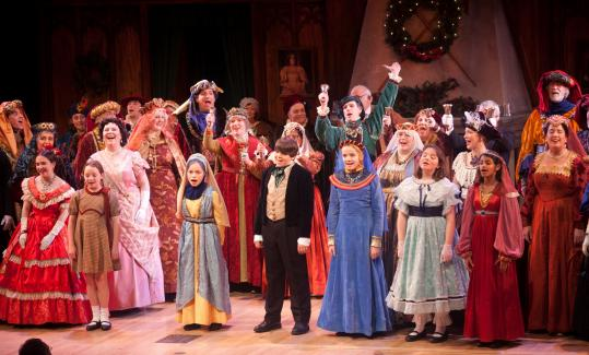 revels marks an anniversary with dramatic flair - The Christmas Revels