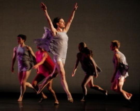 "Mark Morris Dance Group performed ""Petrichor,'' a Celebrity Series of Boston commission, at the Cutler Majestic Theatre."
