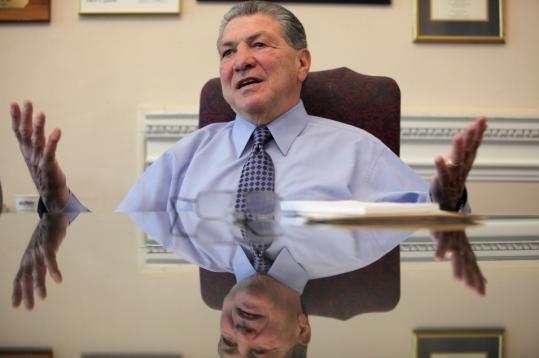 Auditor A. Joseph DeNucci took a singular path from boxing ring to State House.