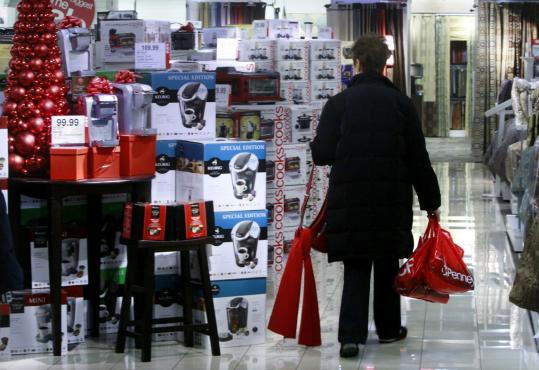 Busy malls in December are a big reason economists are less concerned about the latest Consumer Confidence Index that fell slightly to 52.5 in December from 54.3 in November.