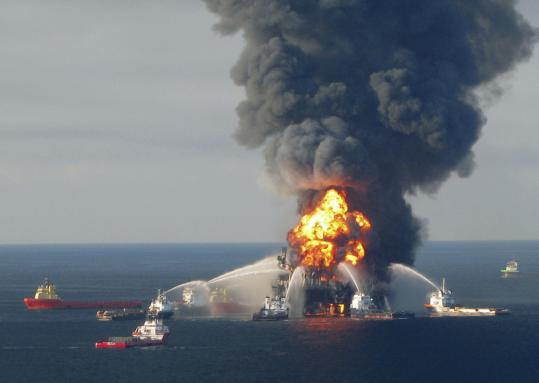 A study says BP's costs from the spill that resulted from the explosion of the Deepwater Horizon in April will be $38 billion to $60 billion. The disaster killed 11 workers.